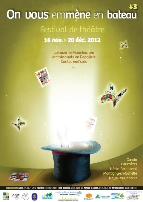 Affiche On vous emmène en bateau 2012