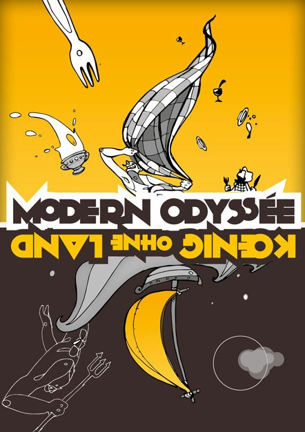 affiche modern odyssee